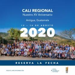 CALI Regional 2020 – XV Aniversario