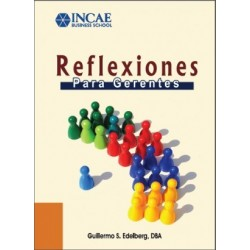 Libro Reflexiones para Gerentes de Guillermo Edelberg (retirar en campus Costa Rica)