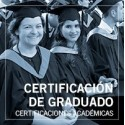 Certificación de graduado