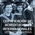 Certificación de acreditaciones internacionales