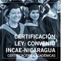 Certificación Ley: Convenio INCAE-Nicaragua